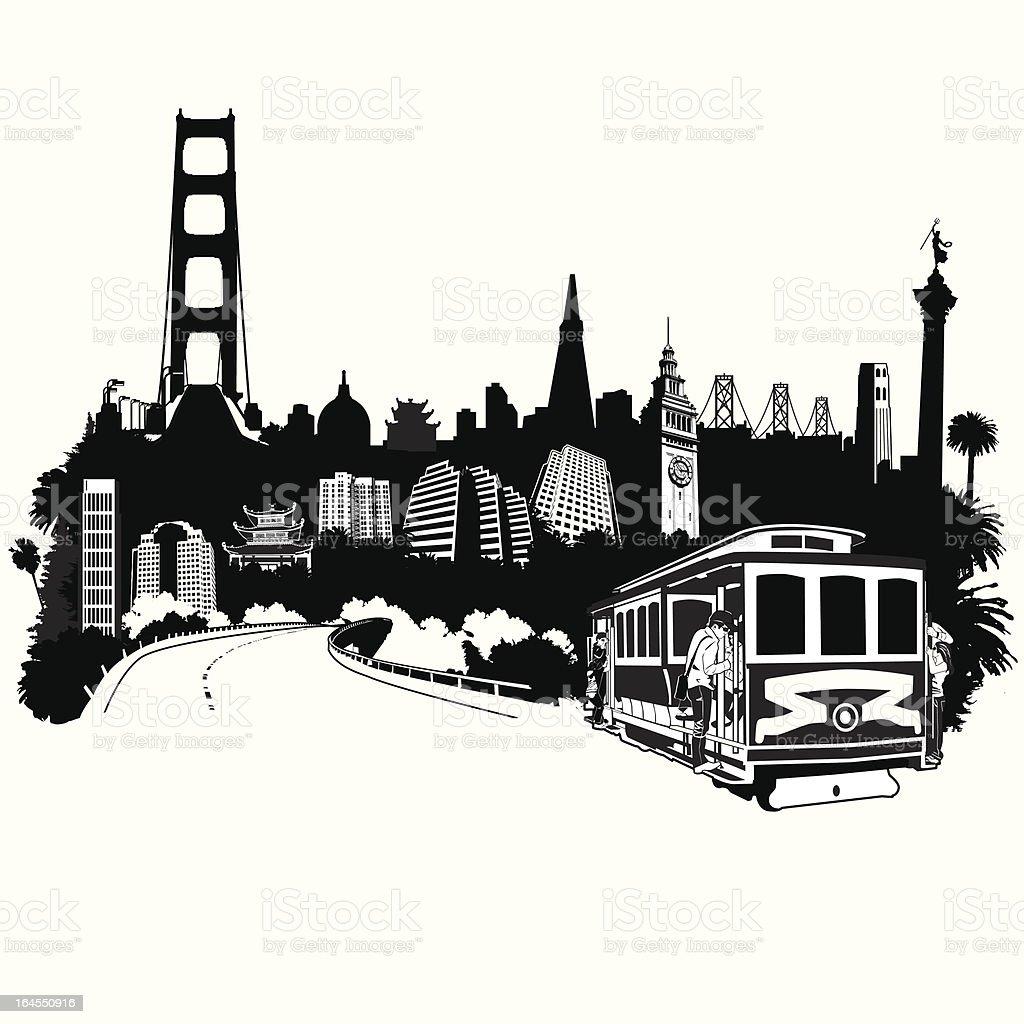 SF Superscape vector art illustration