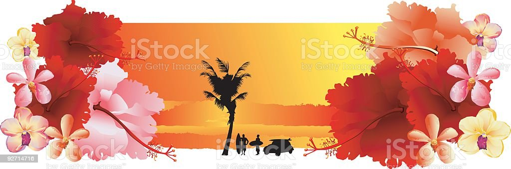 SurferIIII royalty-free stock vector art