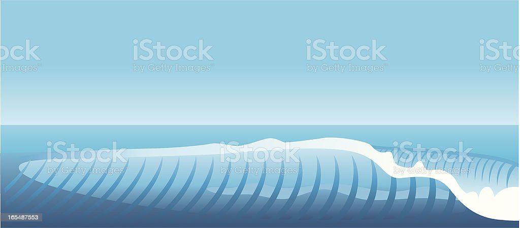 surfing wave royalty-free stock vector art