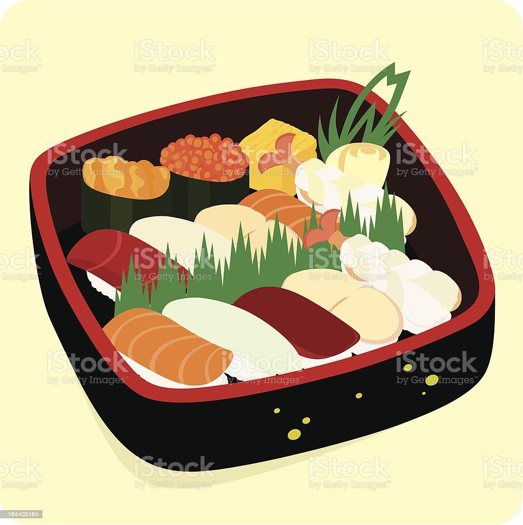 Sushi set. royalty-free stock vector art