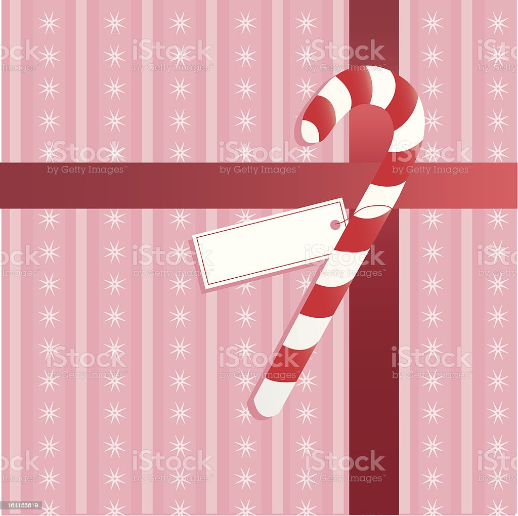 Sweet Christmas Package royalty-free stock vector art