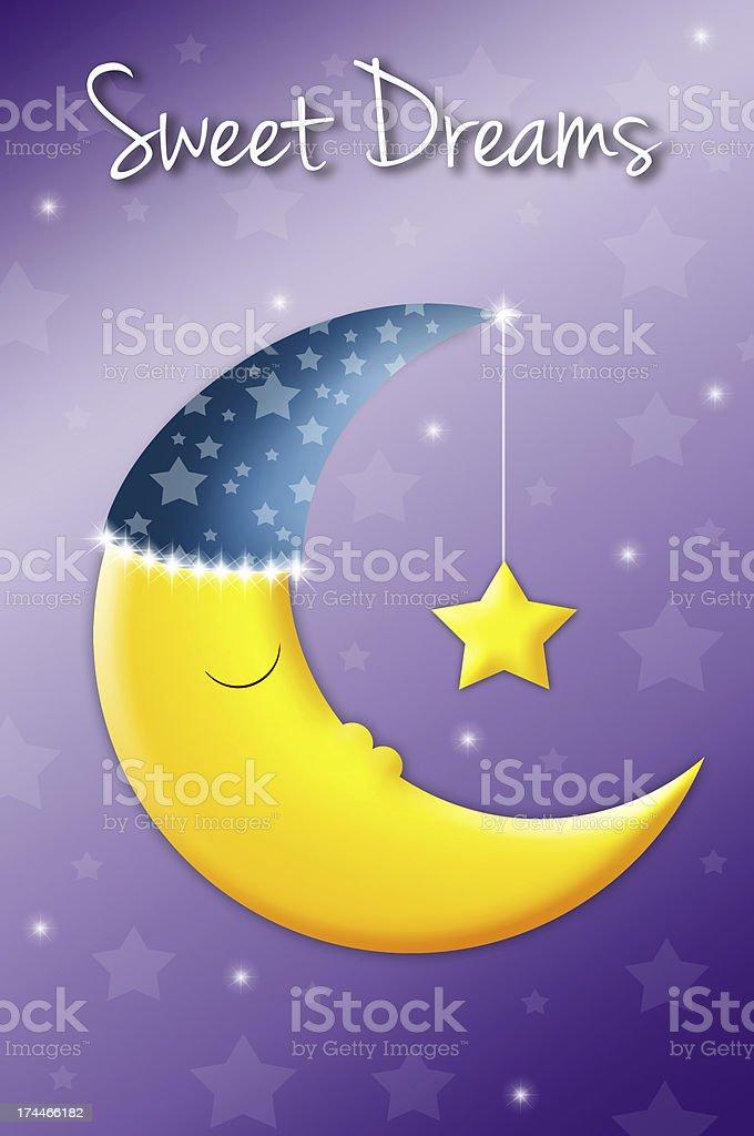 sweet dreams royalty-free stock vector art