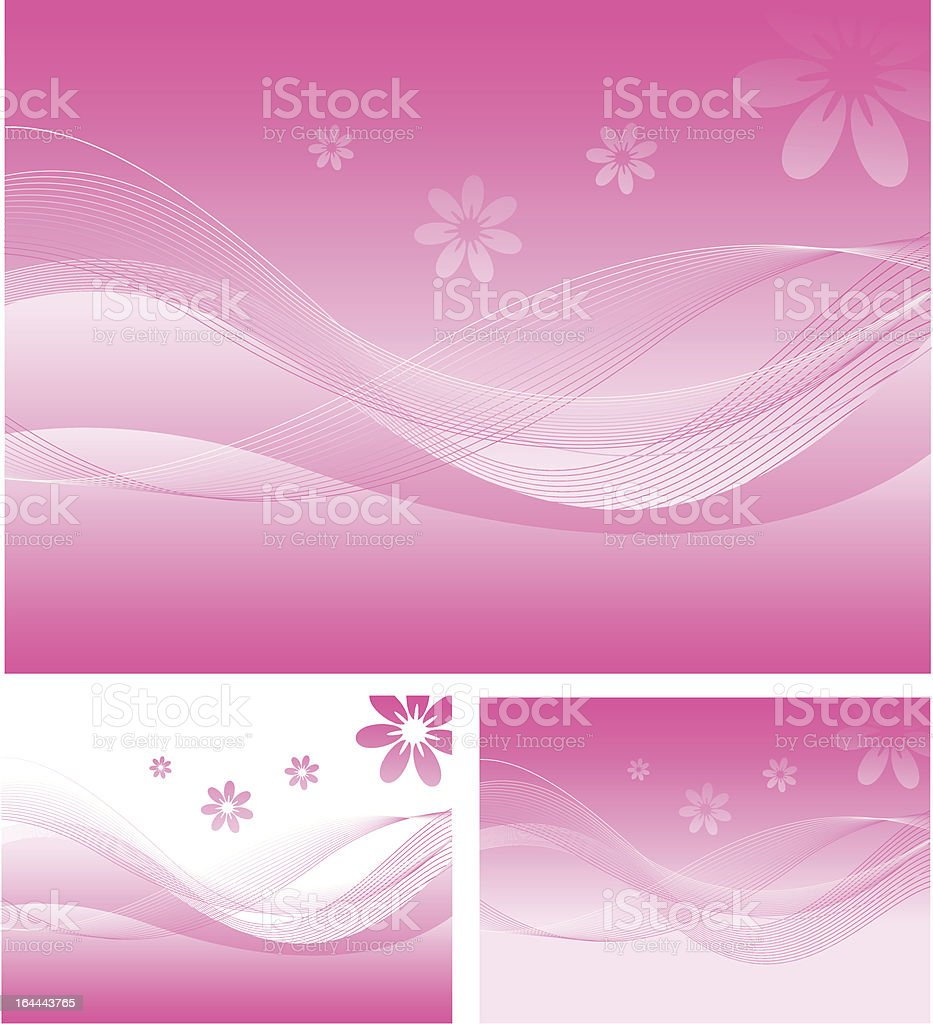 Sweet Pink Pattern Background royalty-free stock vector art