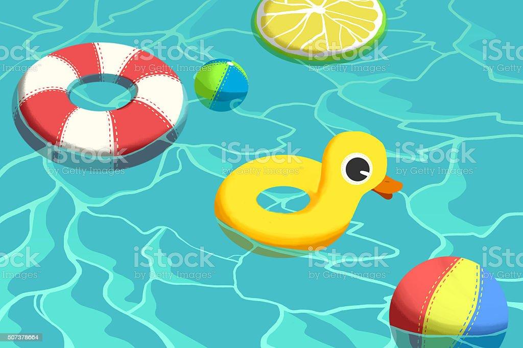 swimming pool toys clipart jaxstormrealverseus