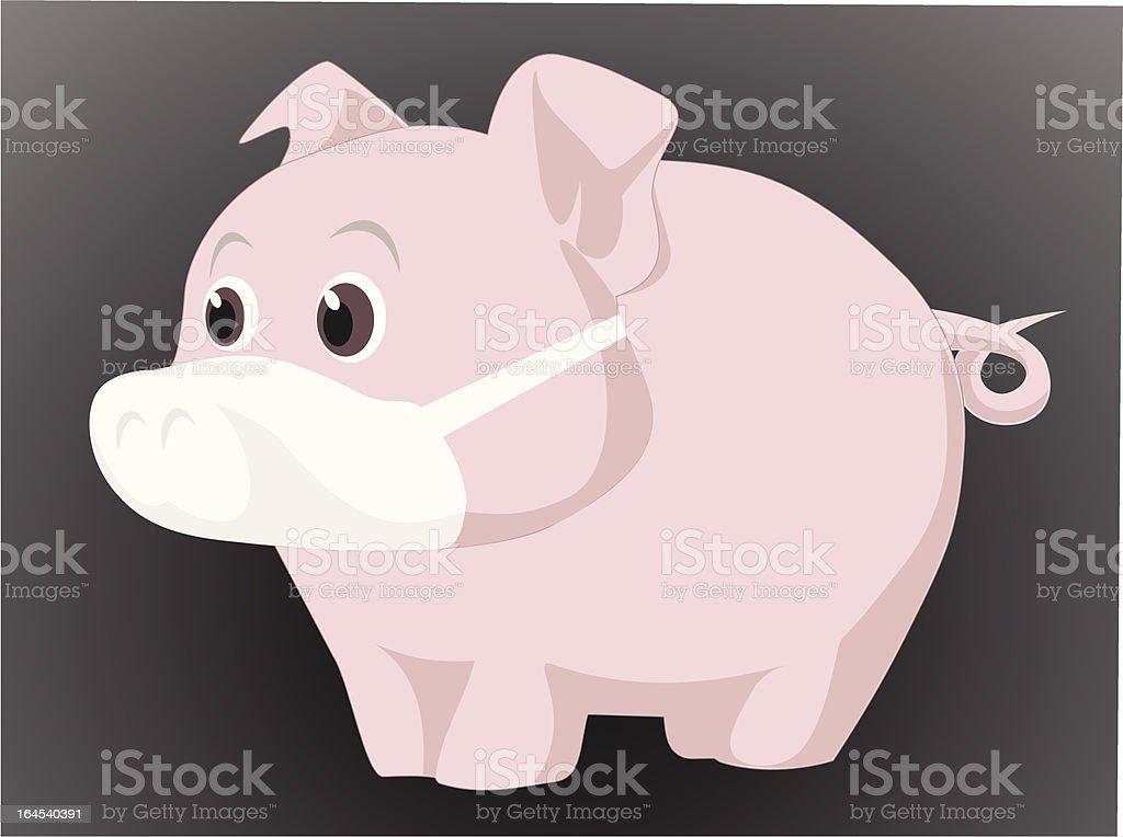 swine virus royalty-free stock vector art