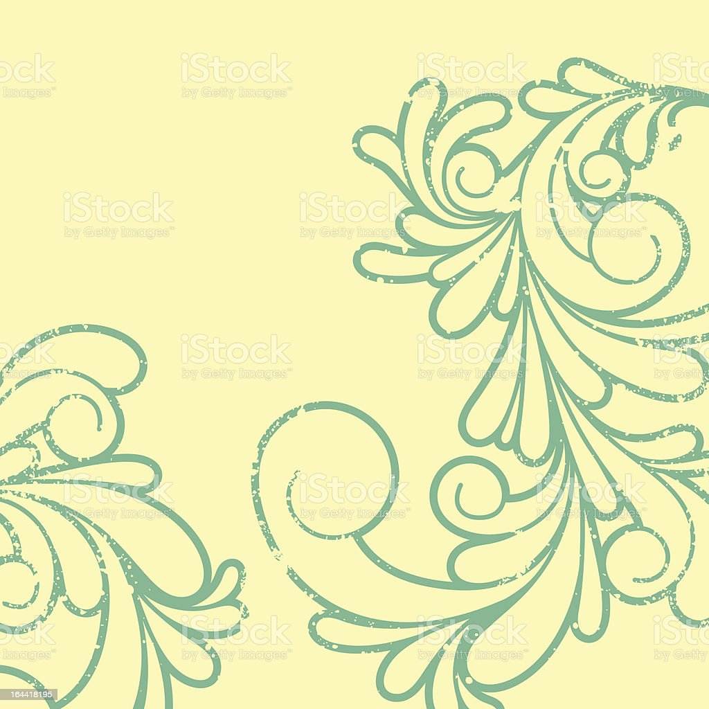 Swirls pattern royalty-free stock vector art