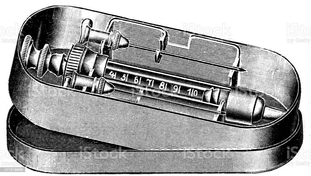 Syringe vector art illustration