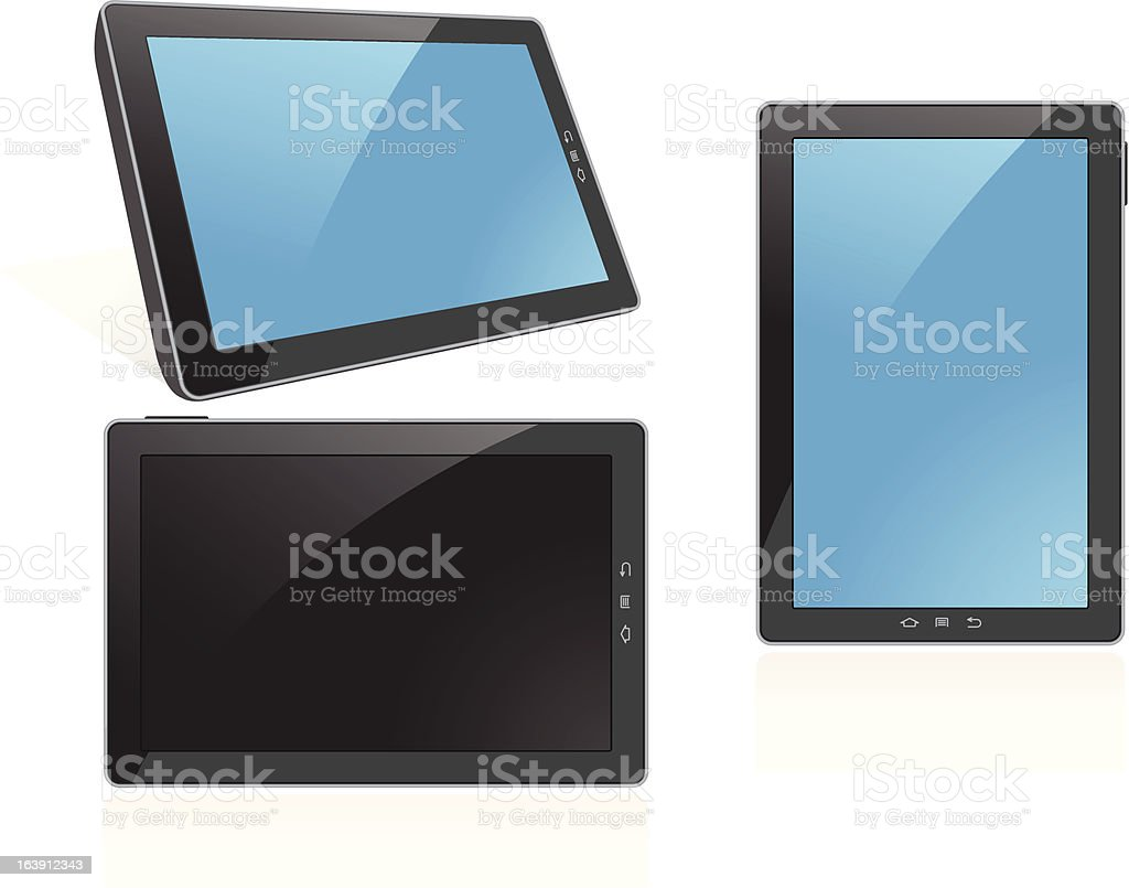 Tablet Computer royalty-free stock vector art