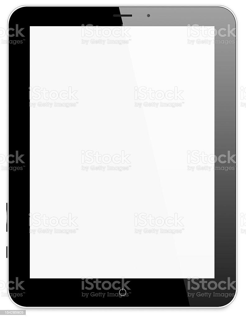 tablet vector art illustration