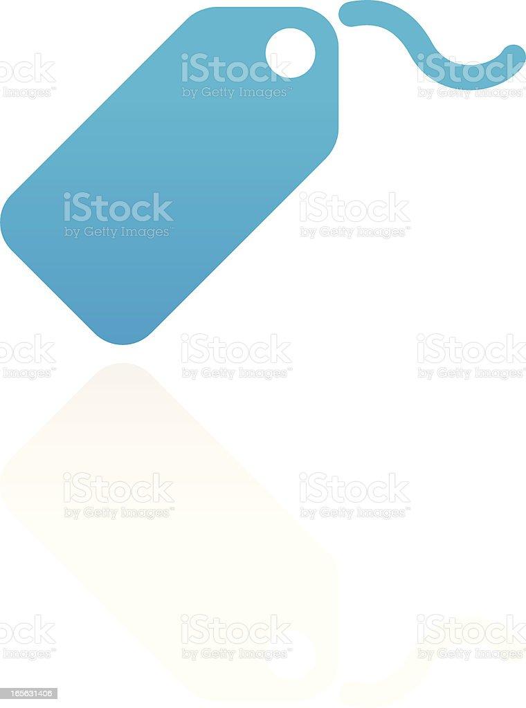 Tag vector art illustration
