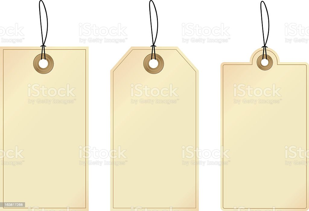 Tags / Labels royalty-free stock vector art