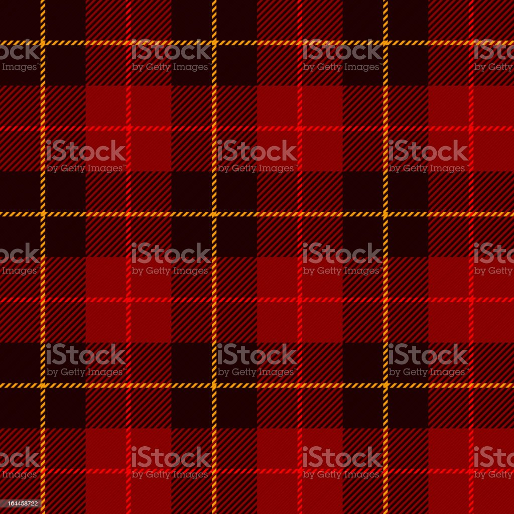 Tartan, plaid pattern vector art illustration