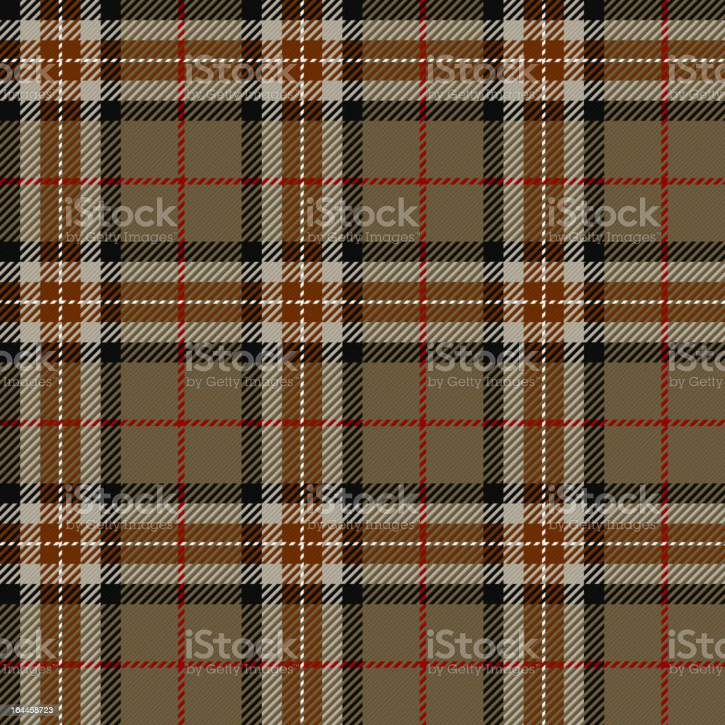 Tartan, plaid pattern royalty-free stock vector art