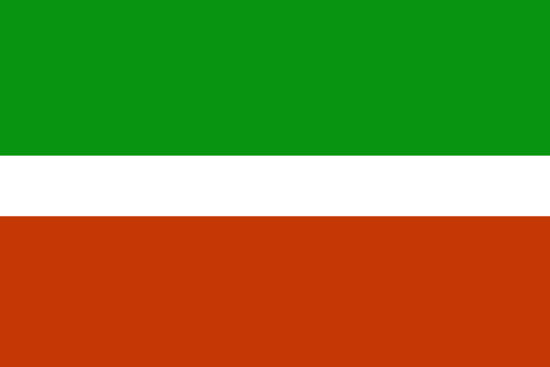 tatarstan flag 3d illustration symbol stock vector art 674391348