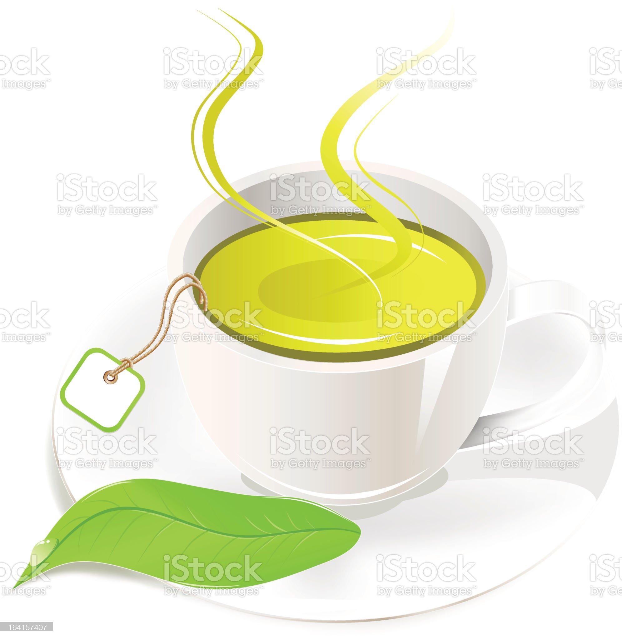 Tea cup royalty-free stock vector art