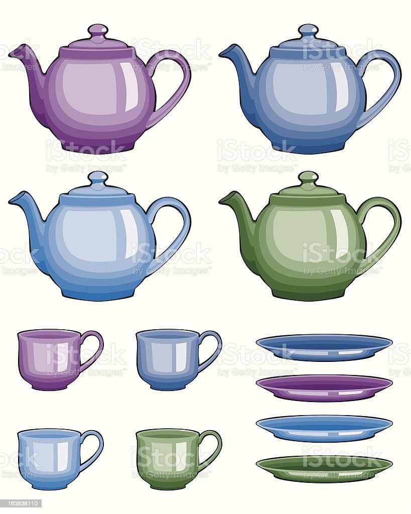 Tea time! royalty-free stock vector art