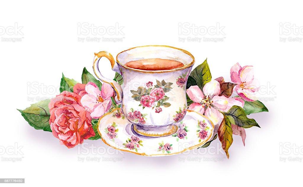 teacup and tea pot with pink flowers watercolor stock teapot clip art pictures tea pot clip art image free