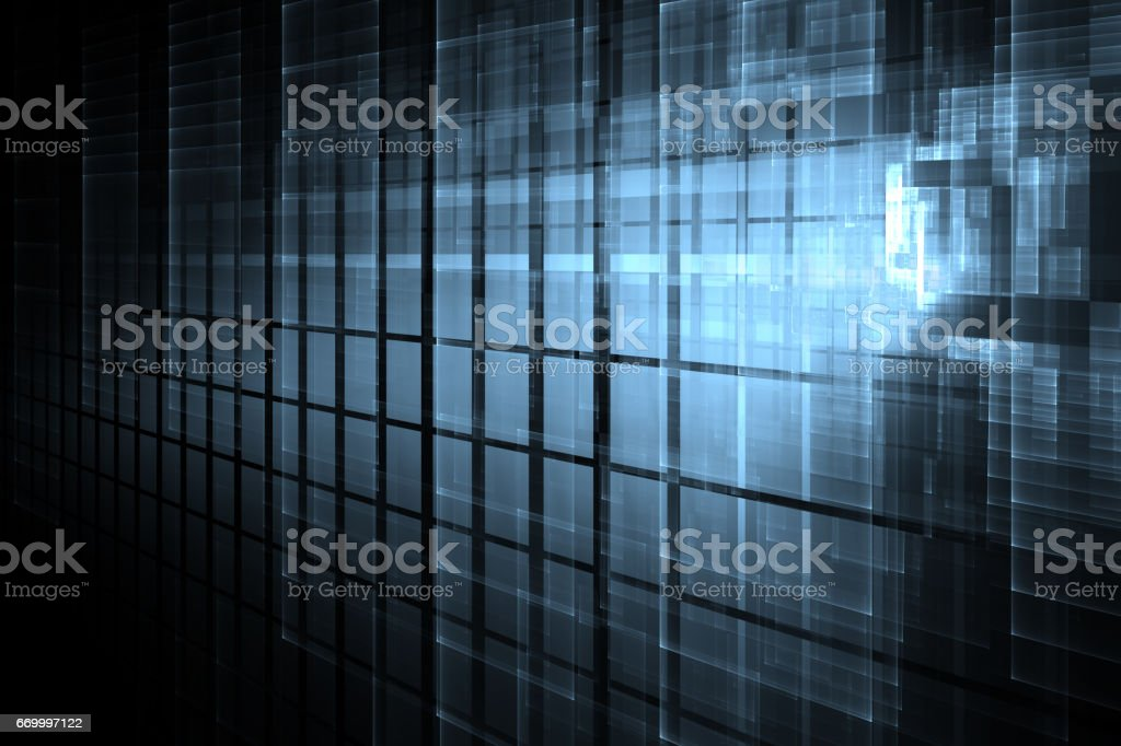 Tech abstract background stock photo