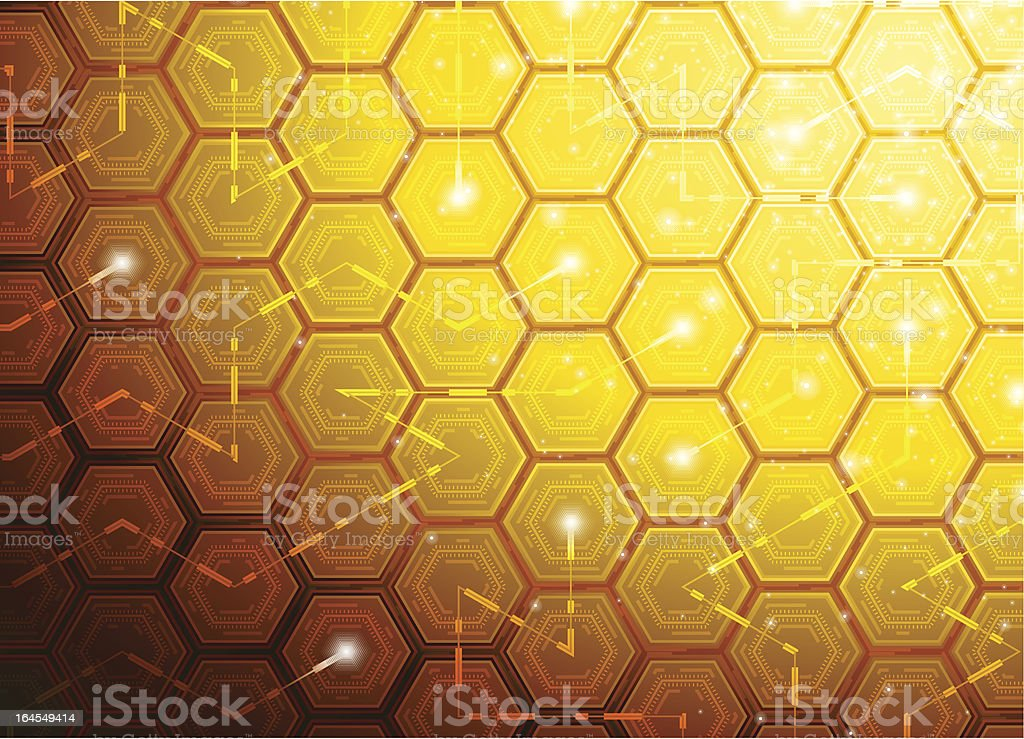 Tech background. royalty-free stock vector art