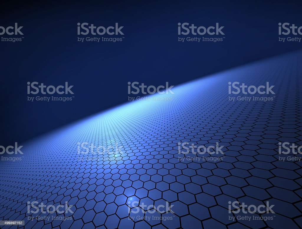 techno planet - abstract background vector art illustration