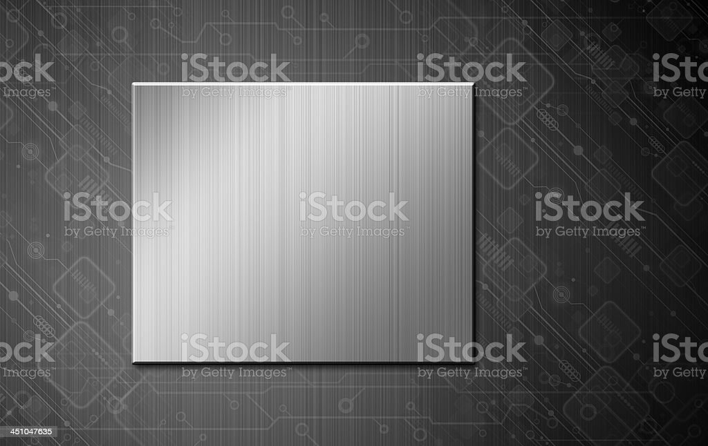 Technology background design royalty-free stock vector art