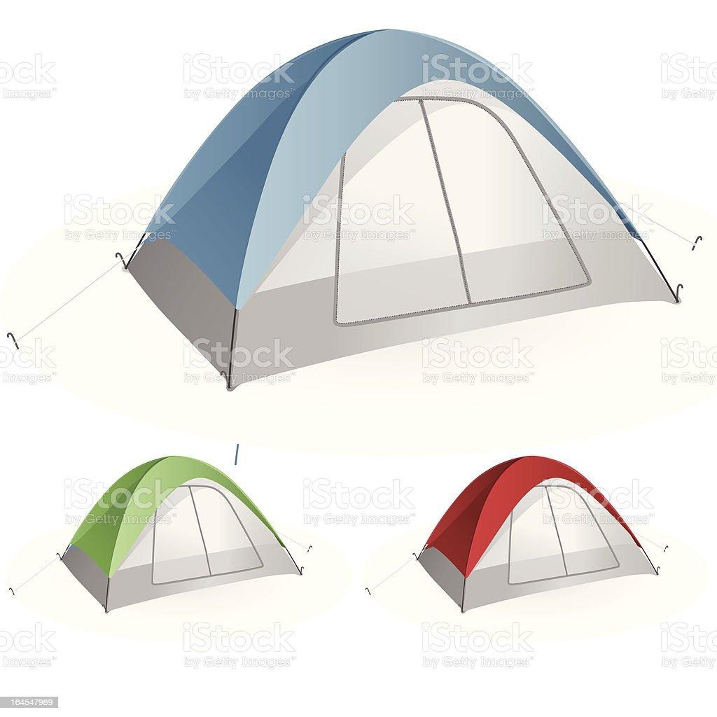 Tent royalty-free stock vector art
