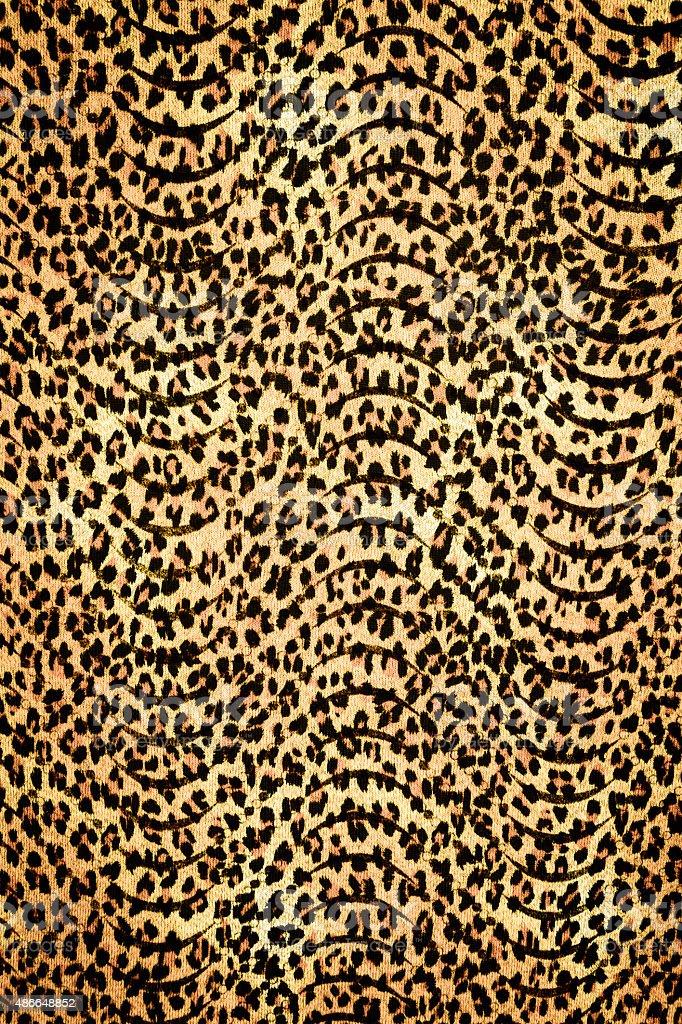 texture fabric wild animal pattern background vector art illustration