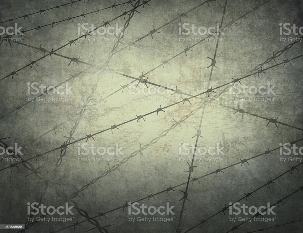 Texture of the prison bars in the background. Jail. vector art illustration