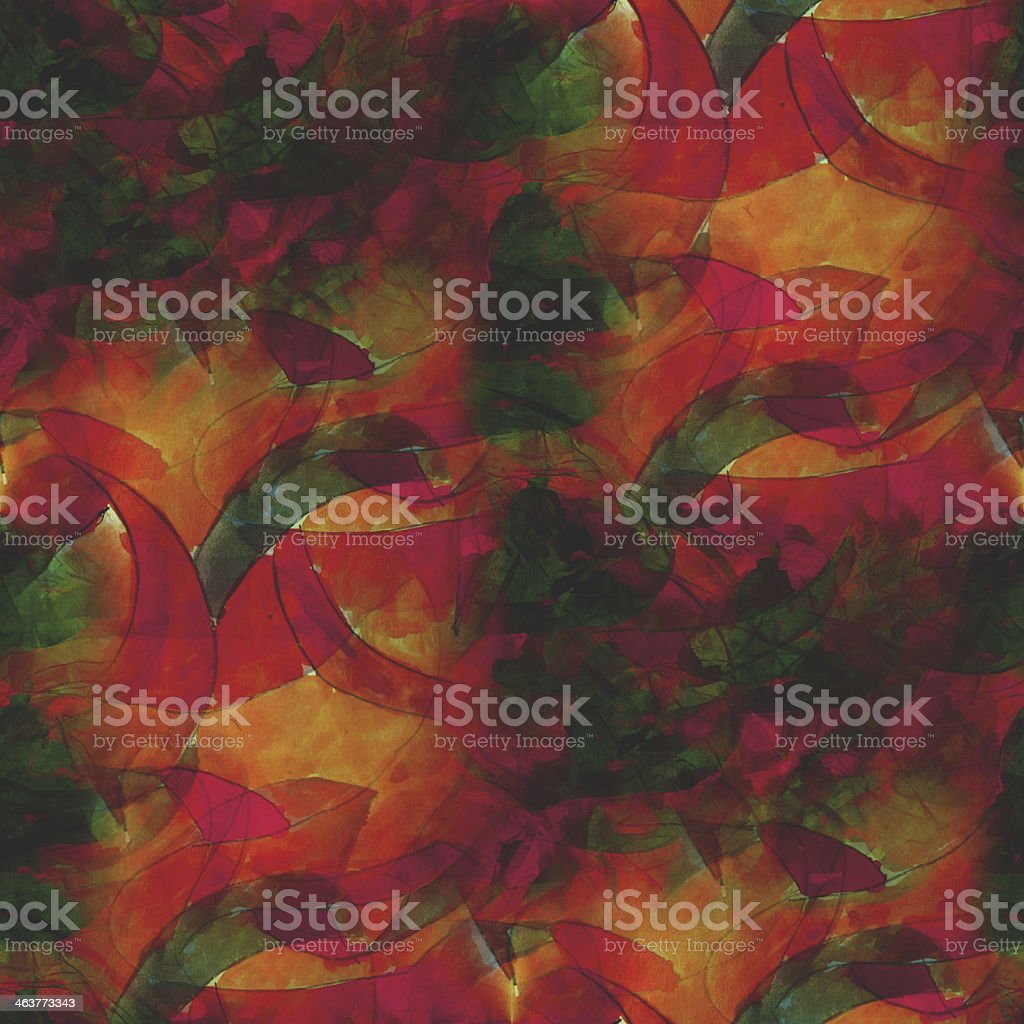 textured green, orange seamless concept palette picture frame gr royalty-free stock vector art