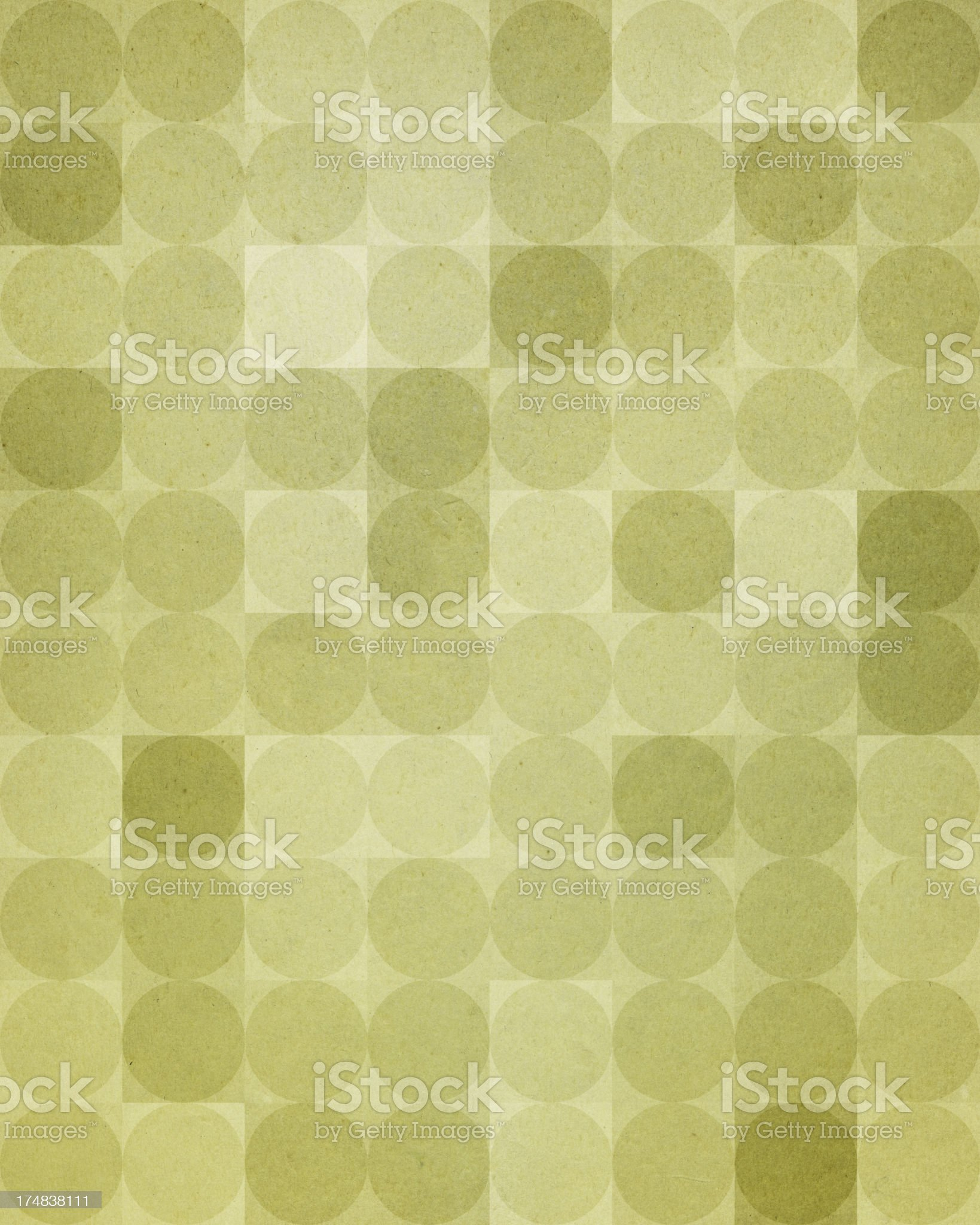 textured paper with green dot pattern royalty-free stock vector art