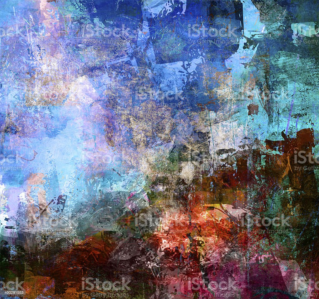 textures mixed media vector art illustration