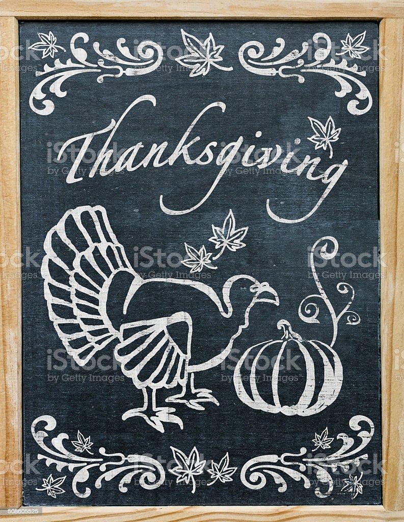 Thanksgiving Greetings vector art illustration