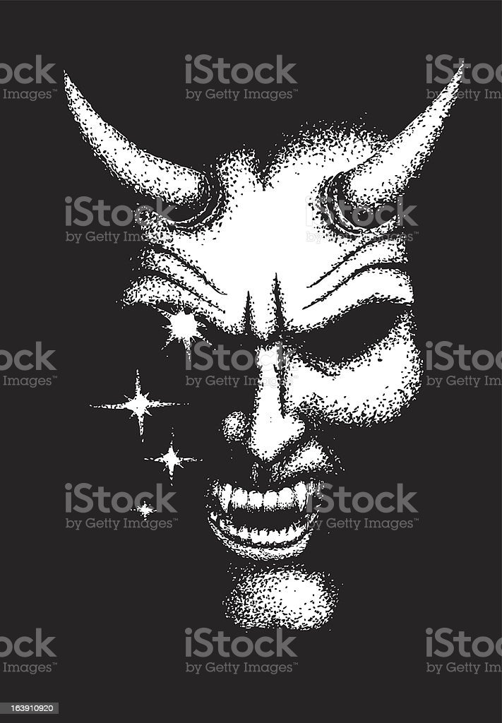 The Devil royalty-free stock vector art