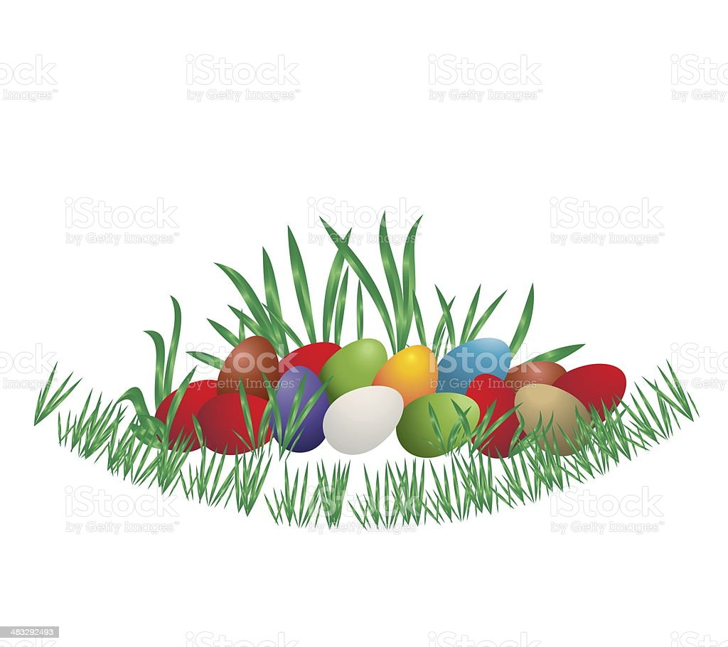The Easter royalty-free stock vector art