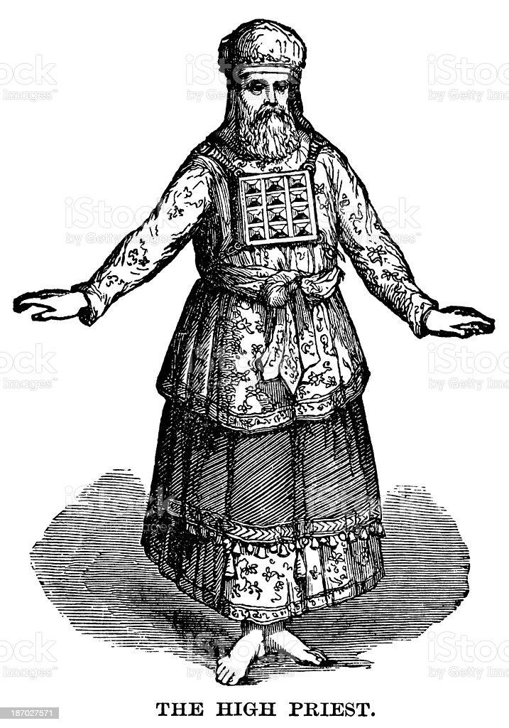 The High Priest vector art illustration