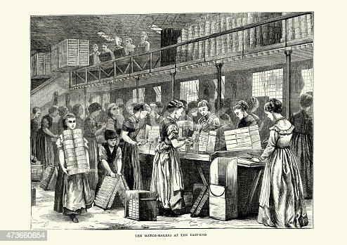 Victorian match making factories