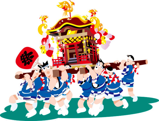 Shinto Clip Art, Vector Images & Illustrations - iStock