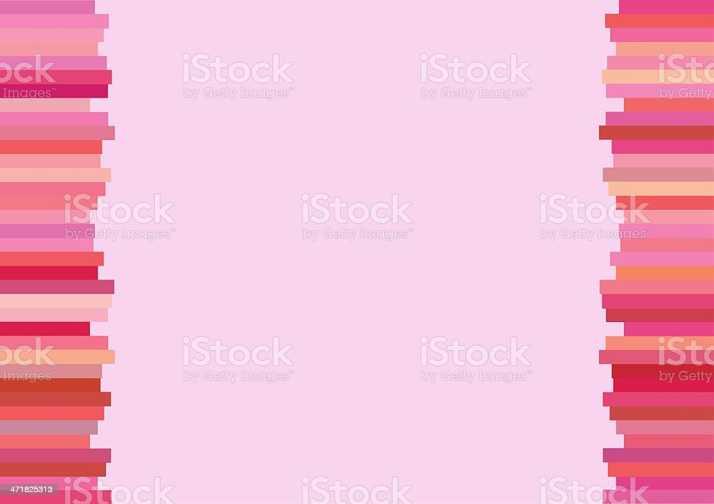 The Modern Horizontal of Pink Lines Background royalty-free stock vector art
