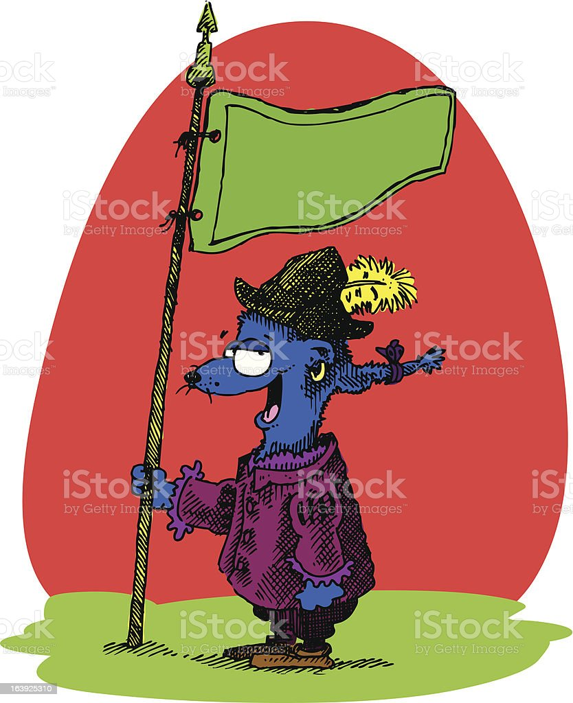 The Musketeer... royalty-free stock vector art