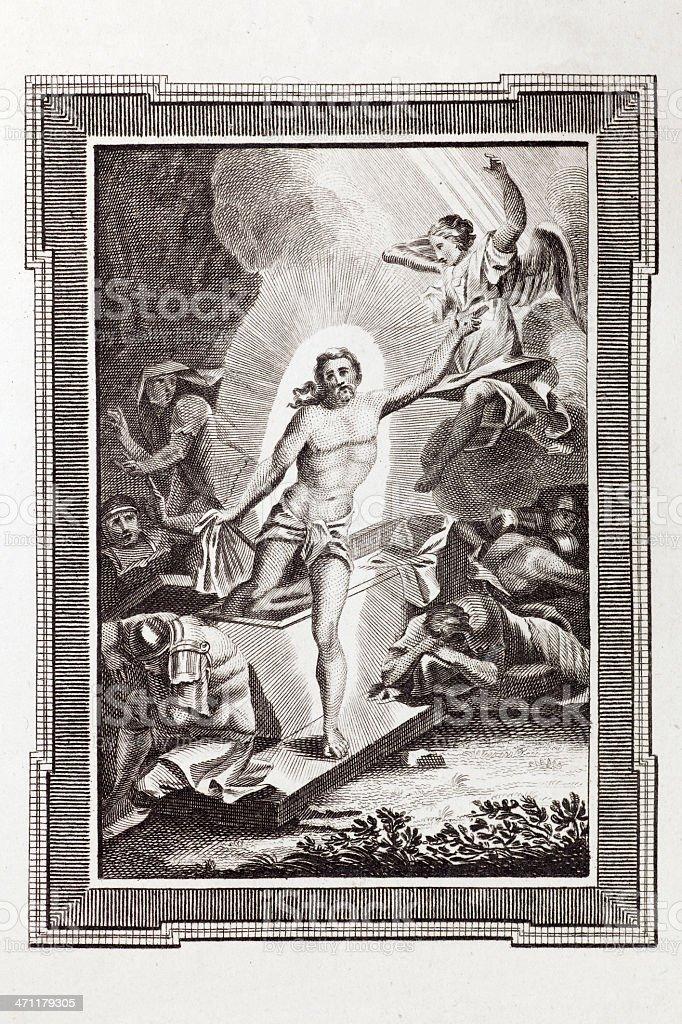 The Resurrection Of Christ royalty-free stock vector art