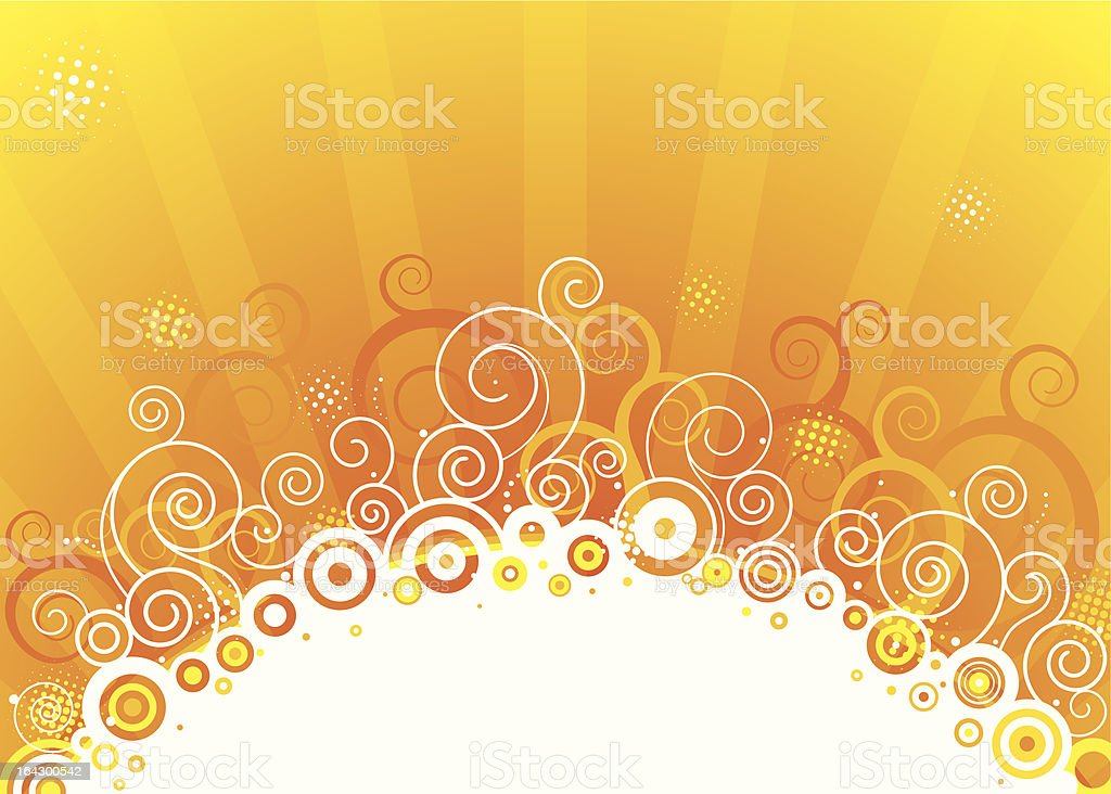 The Sun royalty-free stock vector art