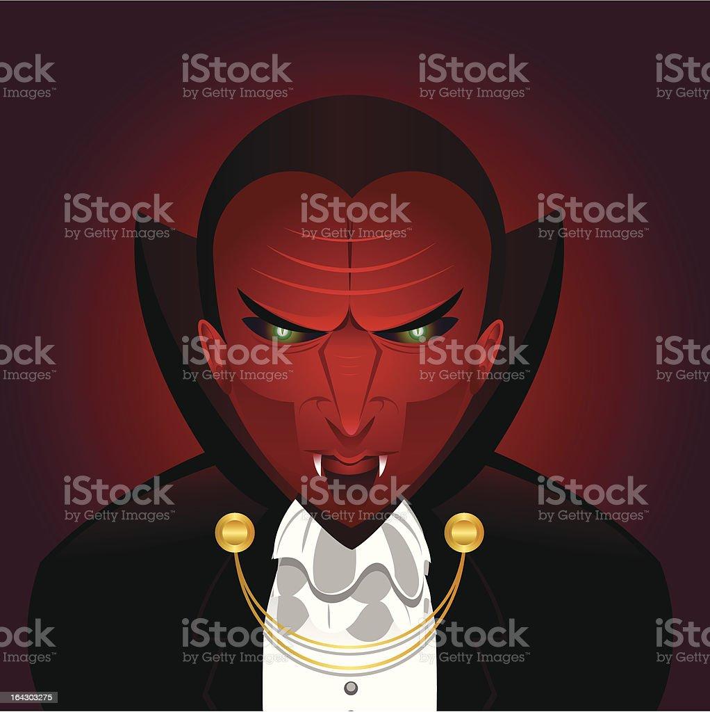 the vampire royalty-free stock vector art