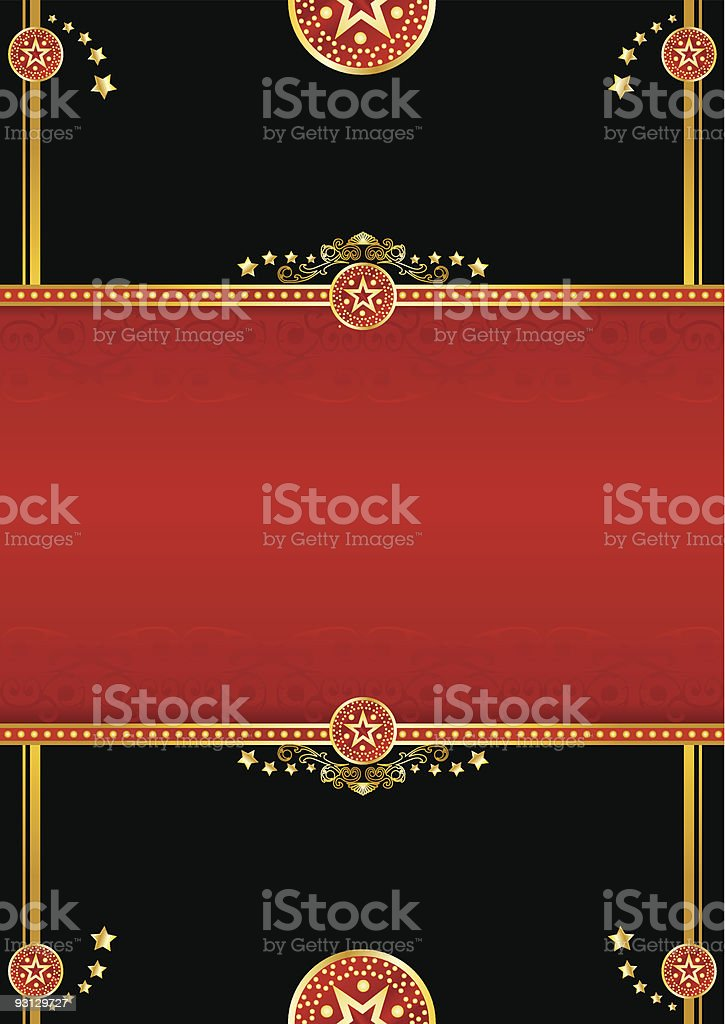 theater background royalty-free stock vector art