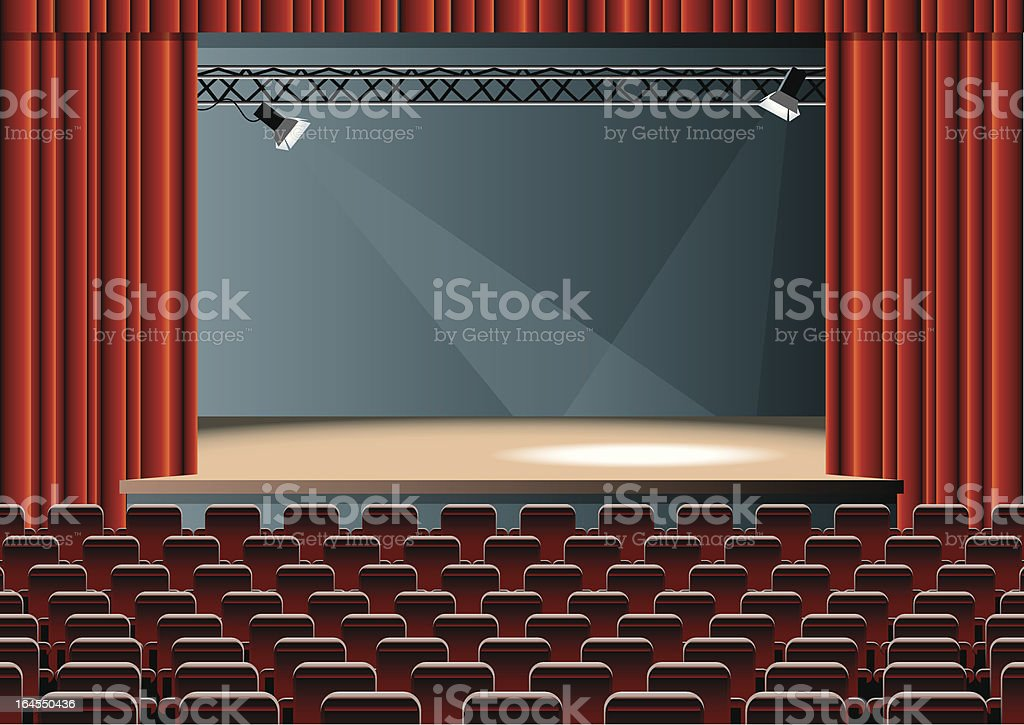 theater royalty-free stock vector art