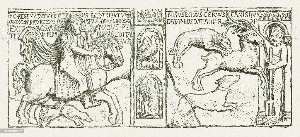 Theodoric royalty-free stock vector art