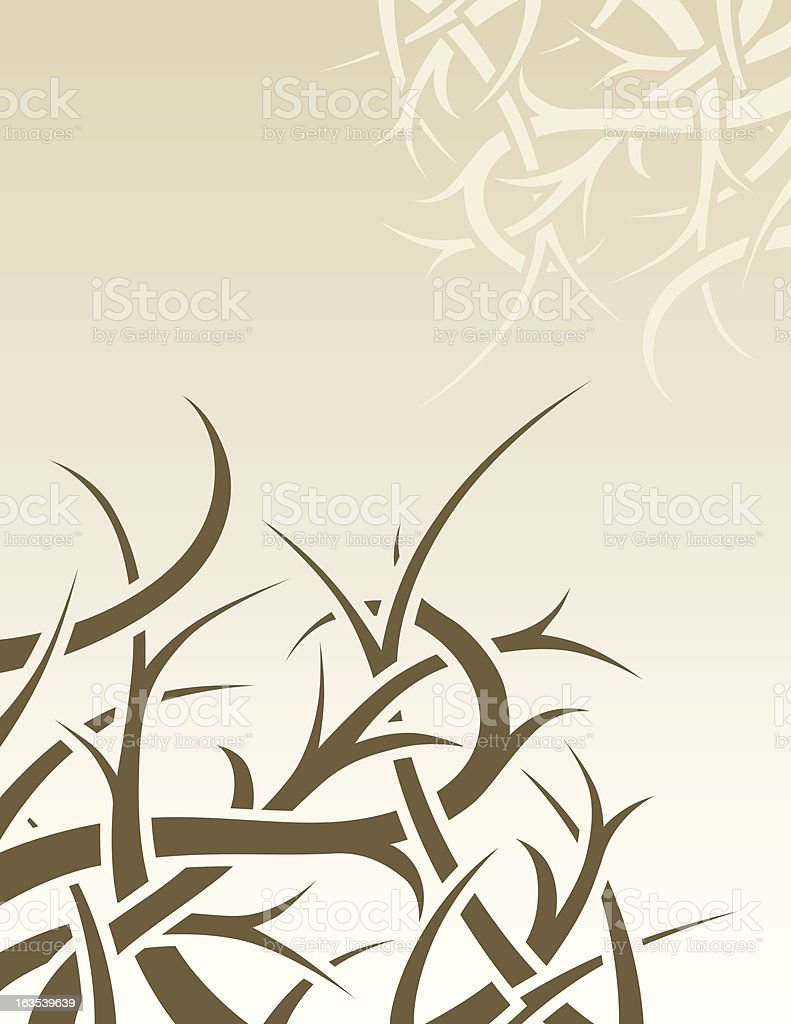 thorns royalty-free stock vector art
