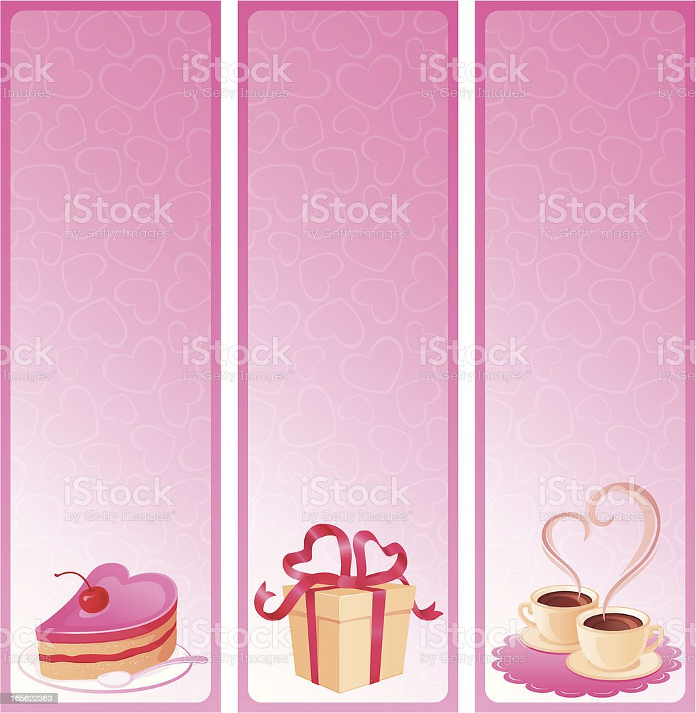 Three banners royalty-free stock vector art