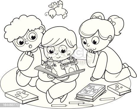 Друзья раскраска для детей