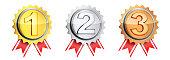 Three symbol medal winner