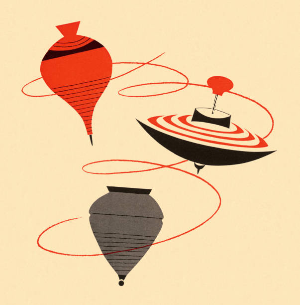 Spinning Top Clip Art, Vector Images & Illustrations - iStock